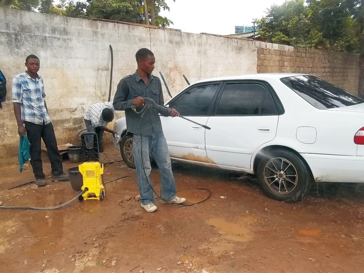 How to start a car wash business in Kenya