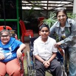 Dr Namitha with the kids