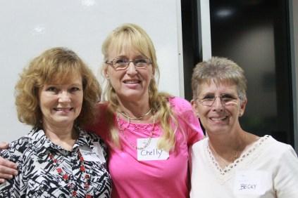 Daphne Summers, Chelly Brown, & Becky Nott