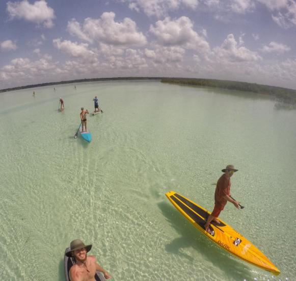 paddle boarding bacalar -buena vista (8)