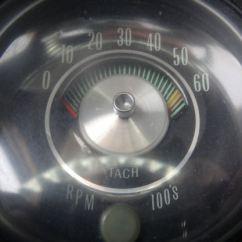 69 Mustang Dash Wiring Diagram Msd Al6 1967 Gto Hood Tachometer Pontiac Tach Parts ~ Elsavadorla