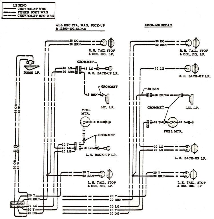 chevelle wiring diagram ethanol phase 1968 diagrams
