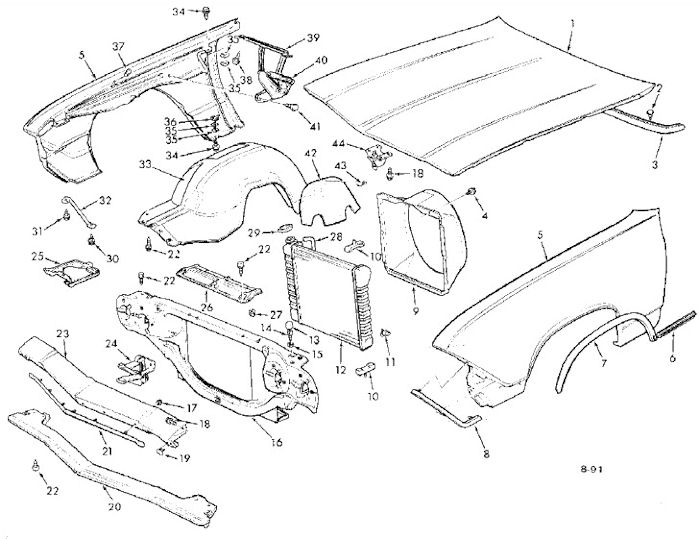 Chevrolet Exhaust Diagram