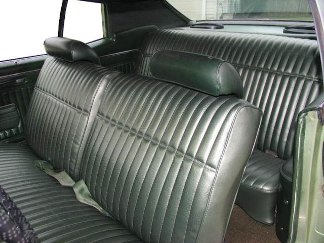 1970 Monte Carlo Bench Seat Interior Photos