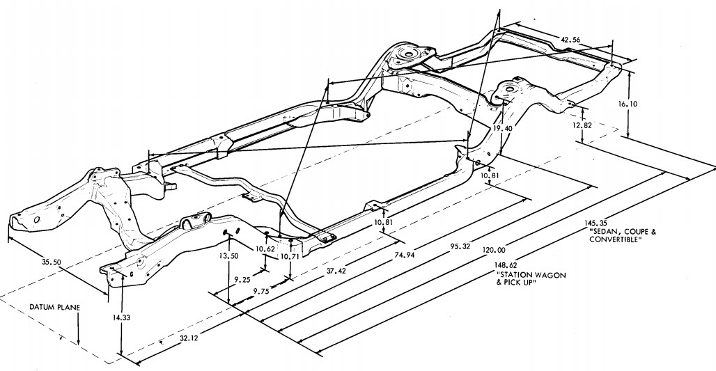 1965 chevy 283 alternator wiring diagram