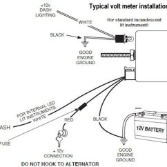 Autometer Voltmeter Wiring Diagram 2004 Volvo Xc90 Holley Electric Choke