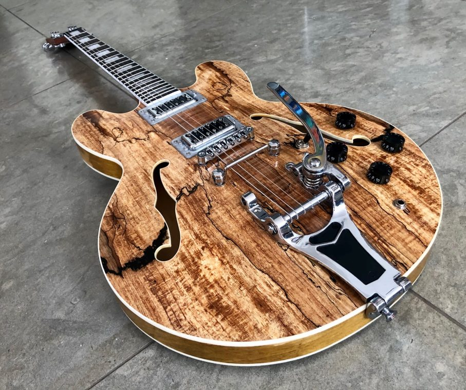 Spalted Maple 335 1