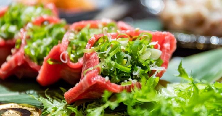 山鯨燒肉│全台首見!日本超夯厚切口袋牛舌只有這裡吃得到!大啖燒肉還能欣賞美麗櫻花好浪漫
