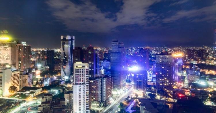 忘廊Lounge ONE,亞緻大飯店29樓俯瞰市區美麗夜景,人多建議要先訂位!(已歇業)