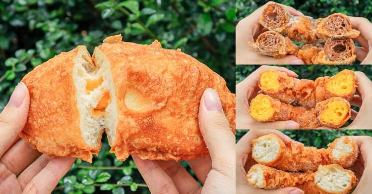 台中人氣脆皮甜甜圈、包餡甜甜圈,一顆最低只要20元!多達12種口味任你挑~