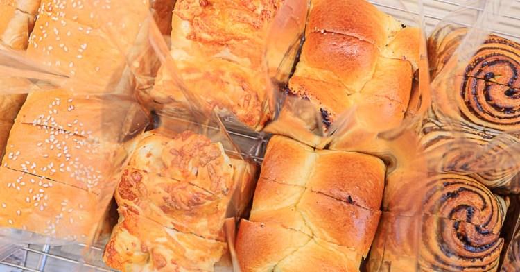 台中麵包推薦,超夯生吐司、好吃小法國麵包,還有橫掃日本三大便利店的米蘭諾布丁!