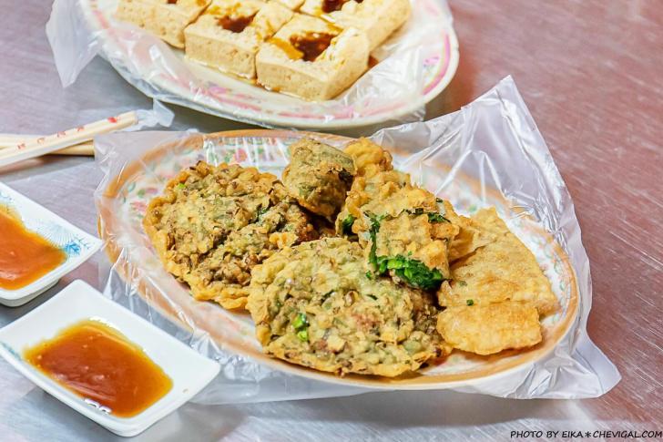 20201015155659 5 - 南屯路廟口炸粿,隱藏在宮廟內的平價炸物與臭豆腐,特別推薦甜米糕,建議預訂以免久候