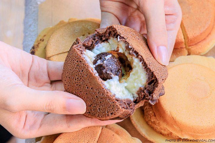 20201019200950 50 - 熱血採訪│這是車輪餅,多達40種口味鹹甜通通有!起司蛋口味就像迷你滿福堡,還有可可布朗尼奶油車輪餅螞蟻控最愛