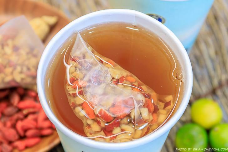 20201030112609 1 - 熱血採訪│升級版桂圓紅棗茶冷熱通通有!還有超級辣辣辣的竹薑茶,不常喝薑茶可別輕易嚐試~
