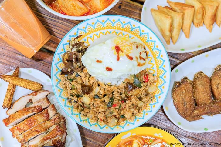 20201221112444 21 - 熱血採訪│台中泰式料理推薦,一個人也能吃泰式料理!還有超酷金黃炸榴槤餅好涮嘴~