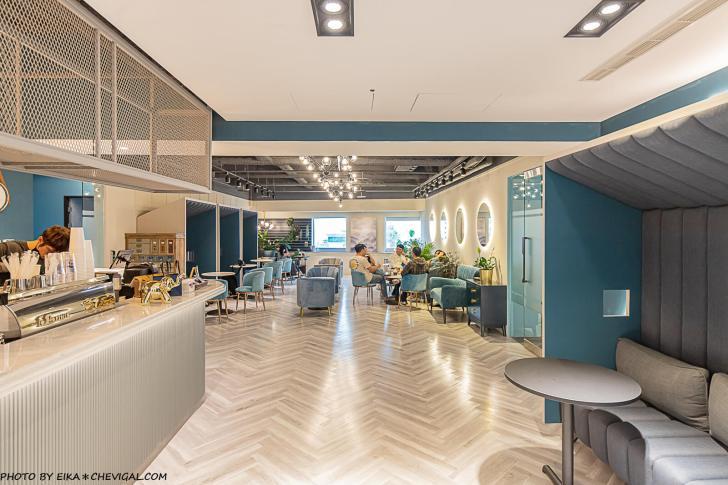 20210406185554 81 - 咖啡任務最新分店超隱密!隱身在商辦大樓裡的質感咖啡廳,27樓可遠眺草悟道與台中街景!