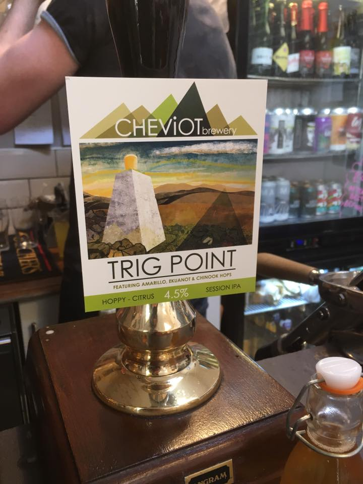 Trigpoint on bar