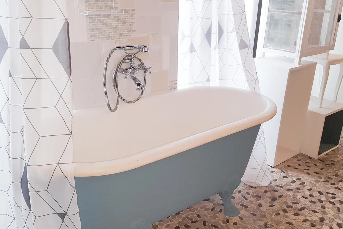 Curtains Hooks And Rods How To Create A Clawfoot Tub Shower