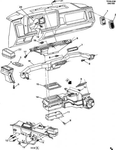 1988 chevy s10 blazer mode d'emploi