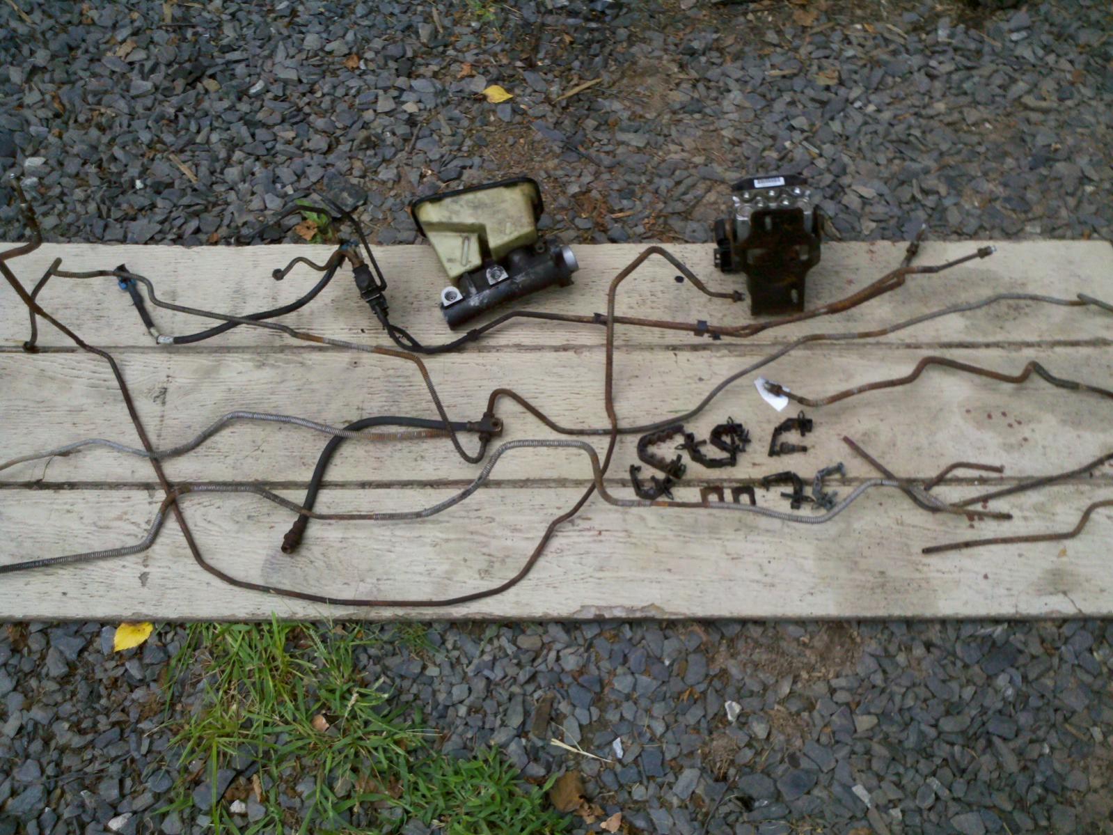 1999 chevy silverado brake line diagram honda xrm 125 motard wiring exact fit pre bent chevrolet forum