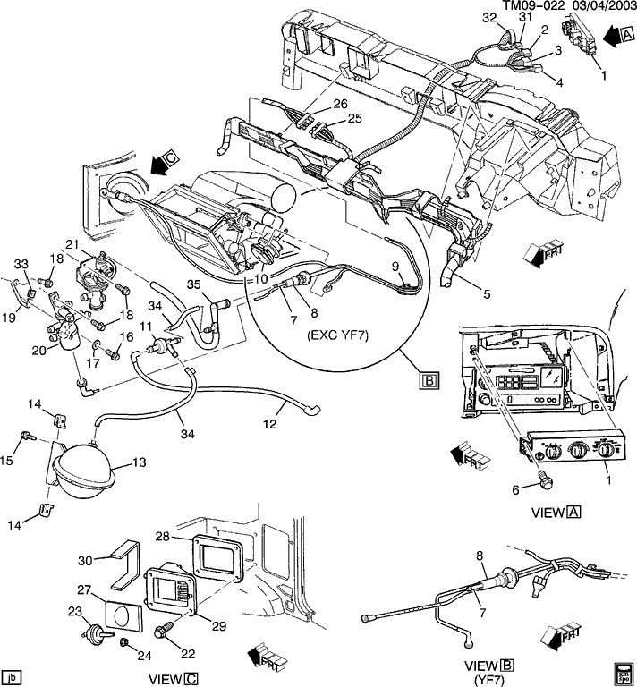 2000 Chevy Astro Van Heater Valve Diagram, 2000, Free