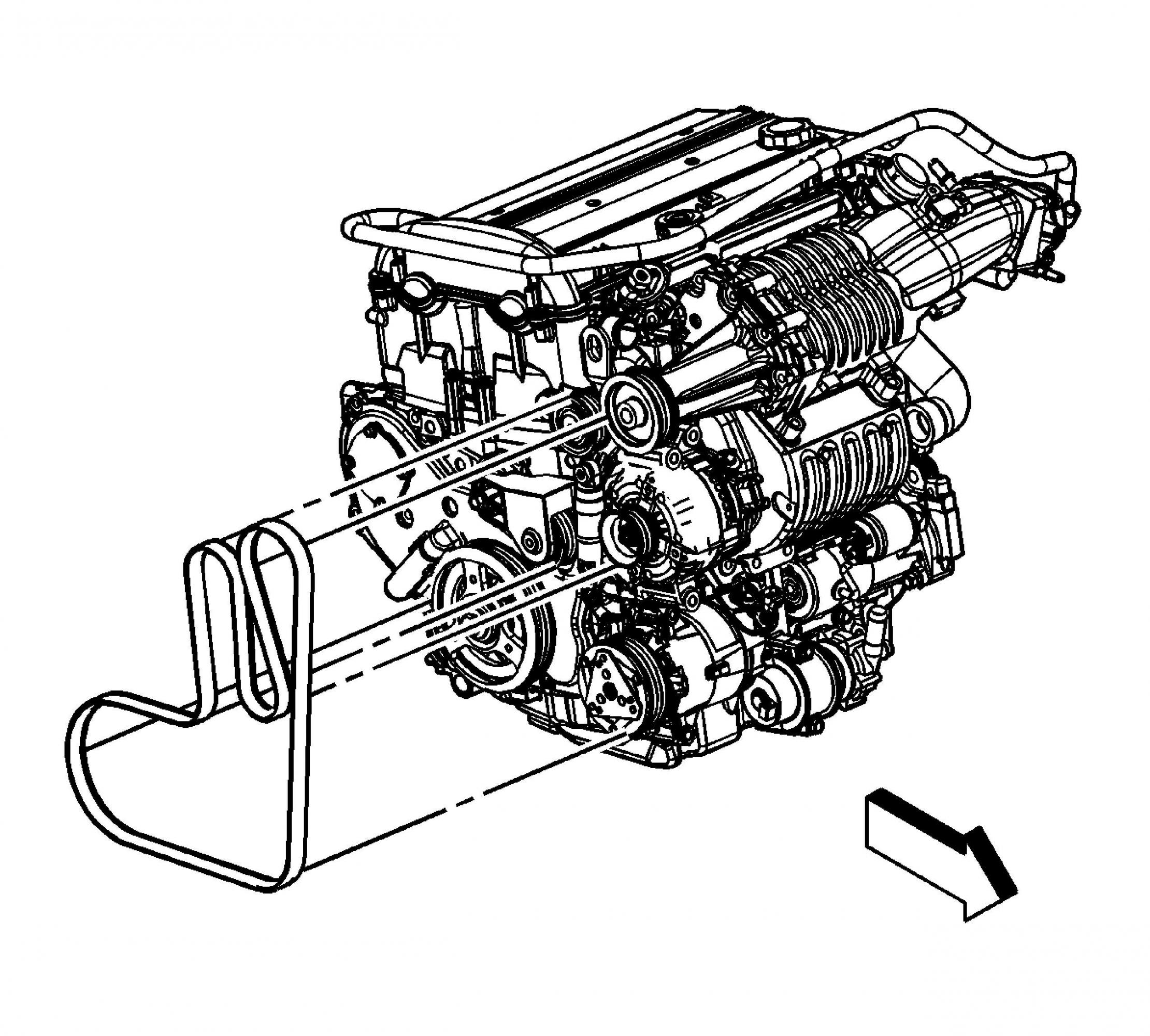 Belt Diagram Together With 2001 Chevy Cavalier Serpentine Belt Diagram