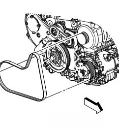 chevy 2 4 engine serpentine belt diagram wiring diagrams bib chevrolet 3 4 engine serpentine belt [ 2369 x 2134 Pixel ]