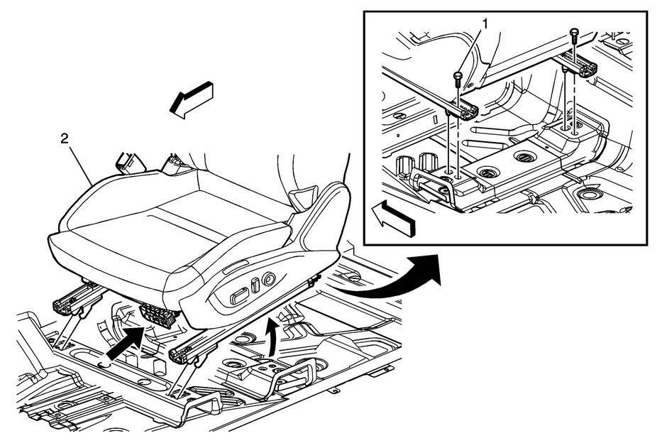 Service manual [Removing Back Seat On A 2004 Chevrolet