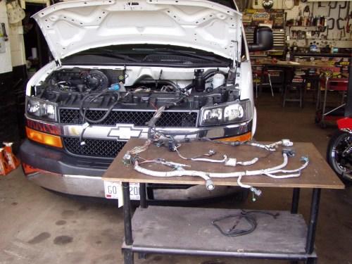 small resolution of engine harness repair p1010225 jpg