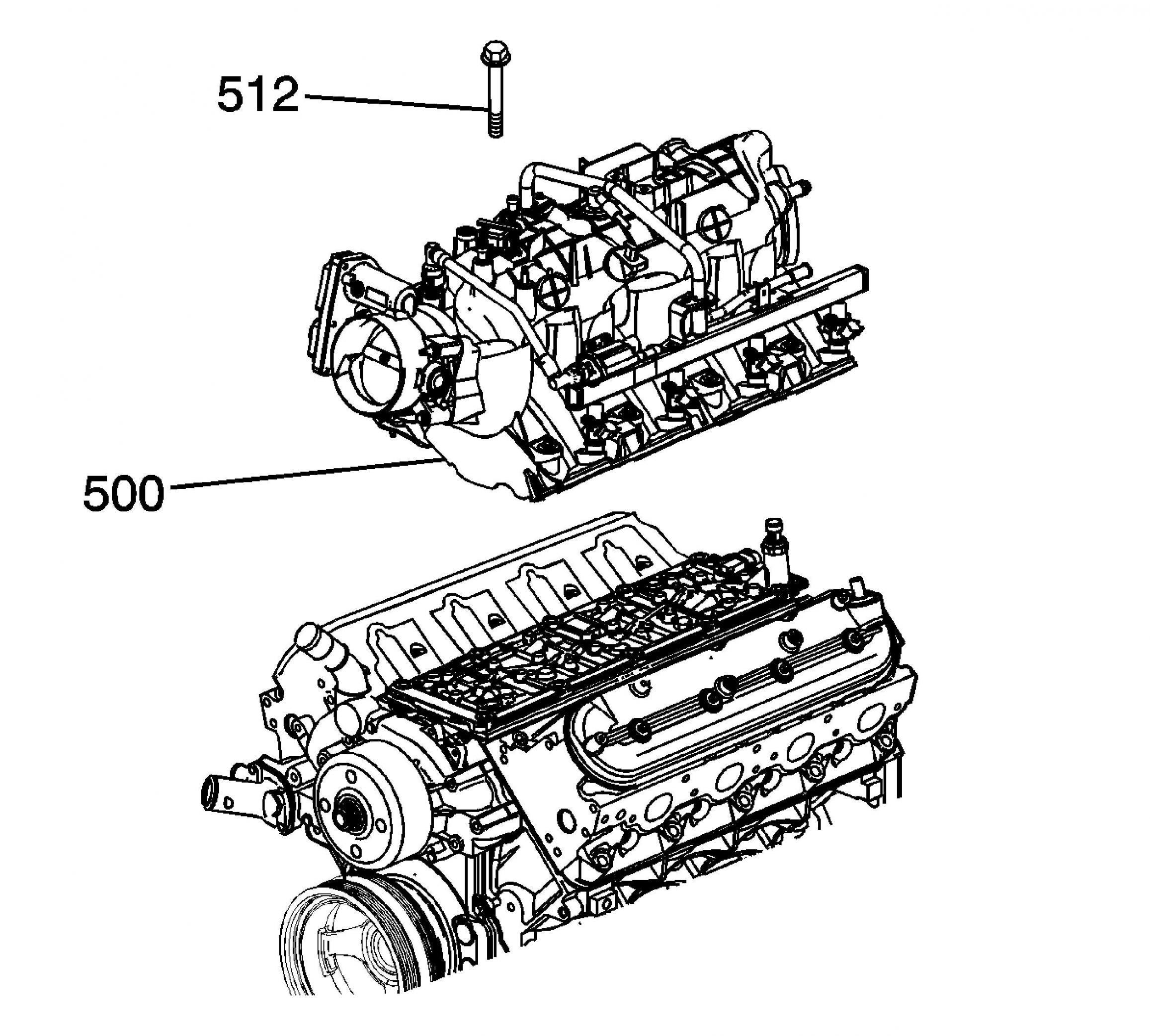 Service manual [2011 Chevrolet Suburban Intake Removal
