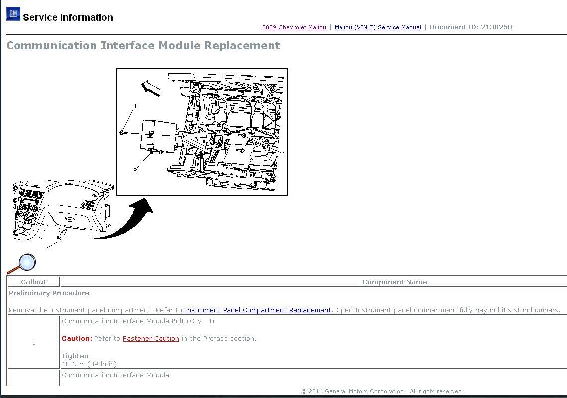 onstar wiring diagram bell door entry communication module 2015 chevrolet malibu autos post