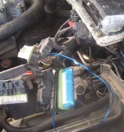 diy walkthrough for vcm ecu ground wire update chevrolet forum aftermarket wire harness 96 chevy wire harness [ 1024 x 768 Pixel ]