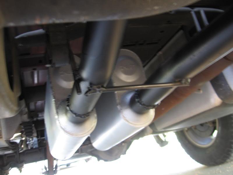 dual exhaust on 2011 silverado