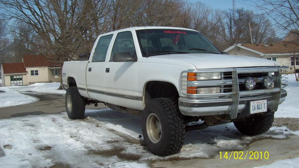 medium resolution of how rare is a 1998 z71 crew cab white truck 001