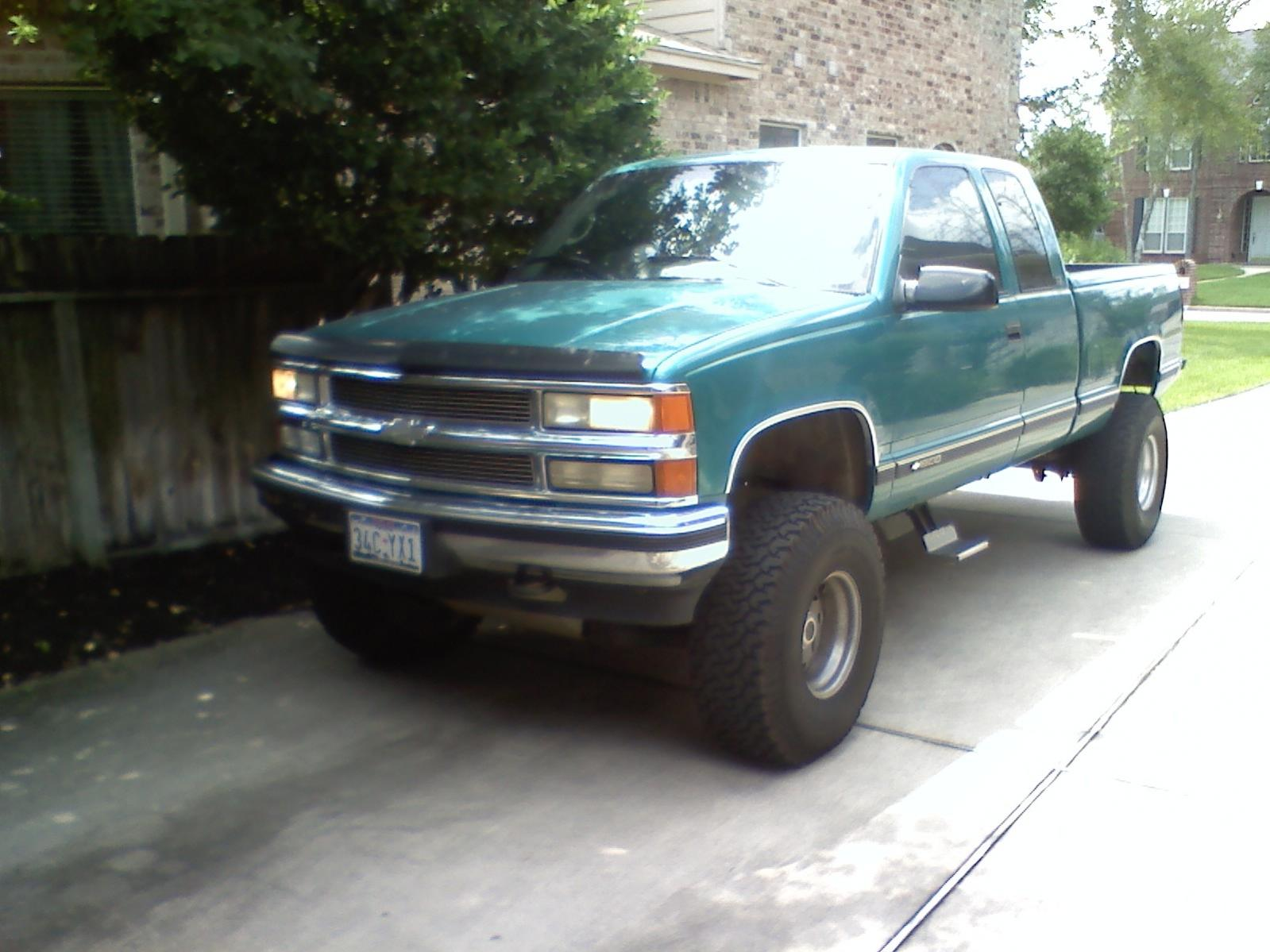hight resolution of lifted 1996 chevy k1500 4x4 truck jpg