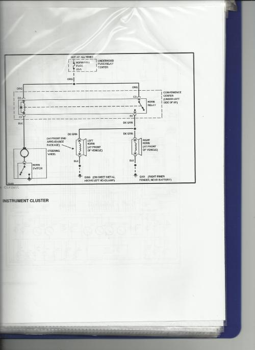small resolution of horn blowing fuses scan jpg