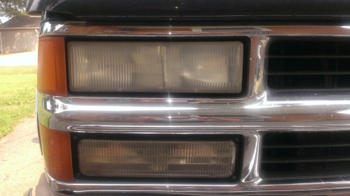 small resolution of 1996 silverado headlight upgrade closeupoflight jpg