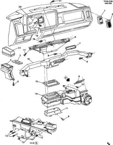 2003 Chevrolet Silverado Actuator Diagram, 2003, Free