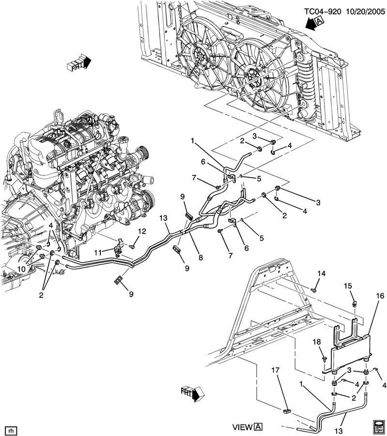 2004 chevy suburban transmission diagram