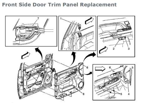 small resolution of broken exterior door handles door trim jpg