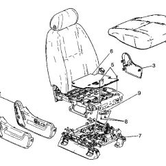 2003 Chevy Trailblazer Parts Diagram Cat5e Wiring B 2007 Front End Free For You Passenger Side Seat Position Sensor Replacement Diagrams 2008