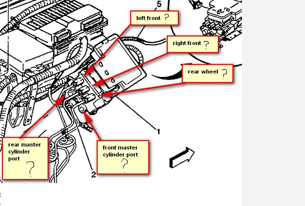 Diagram 2005 Z71 Tahoe Brake Line