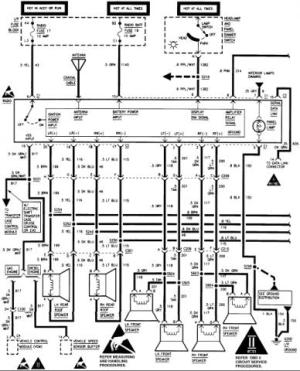 Stereo wiring diagram or help  Chevrolet Forum  Chevy