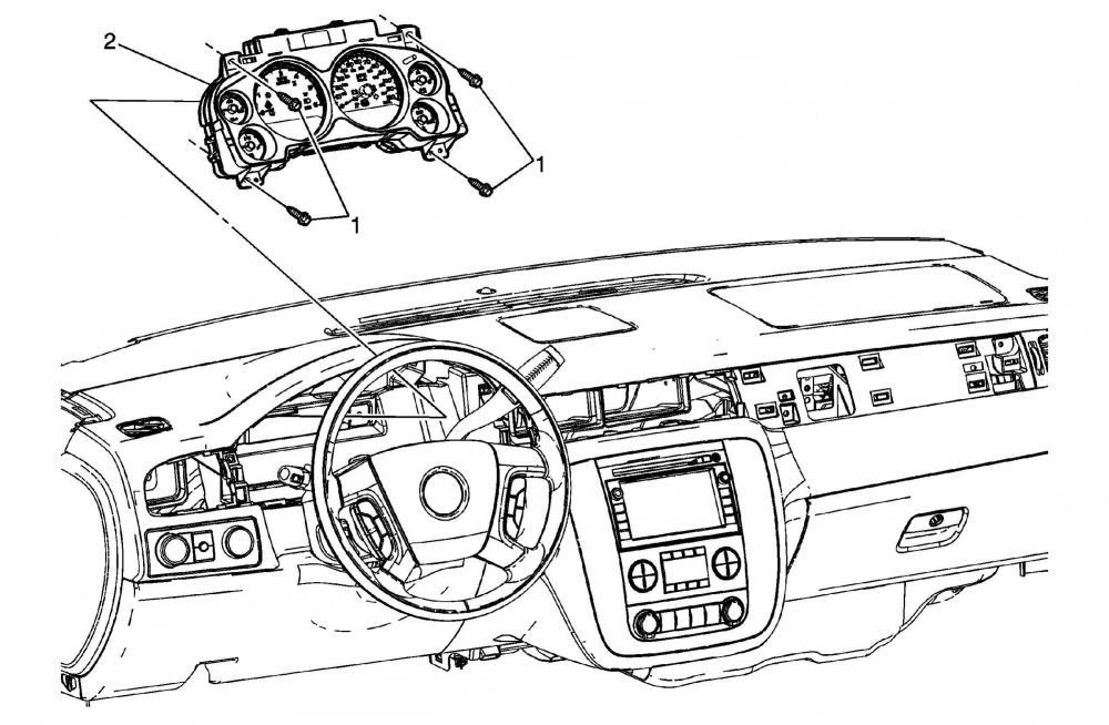 medium resolution of 2007 chevy tahoe instrument panel