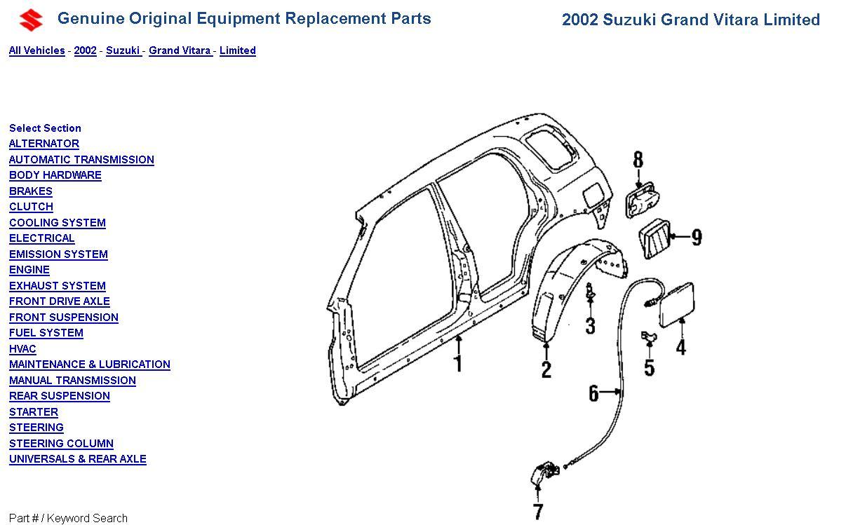 hight resolution of 2000 tracker fuel door spring panel diagram jpg