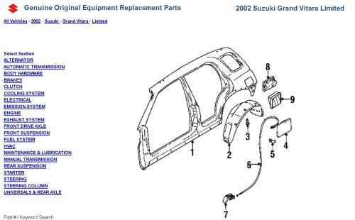 small resolution of 2000 tracker fuel door spring panel diagram jpg