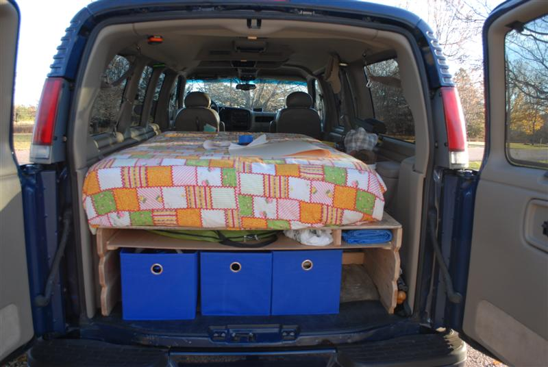 BUILDUP A Cool 2001 Chevy Express Camper Conversion - ChevroletForum