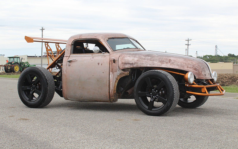 Chopped Chevy Rat Rod Will Confuse Your Emotions In A Good Way