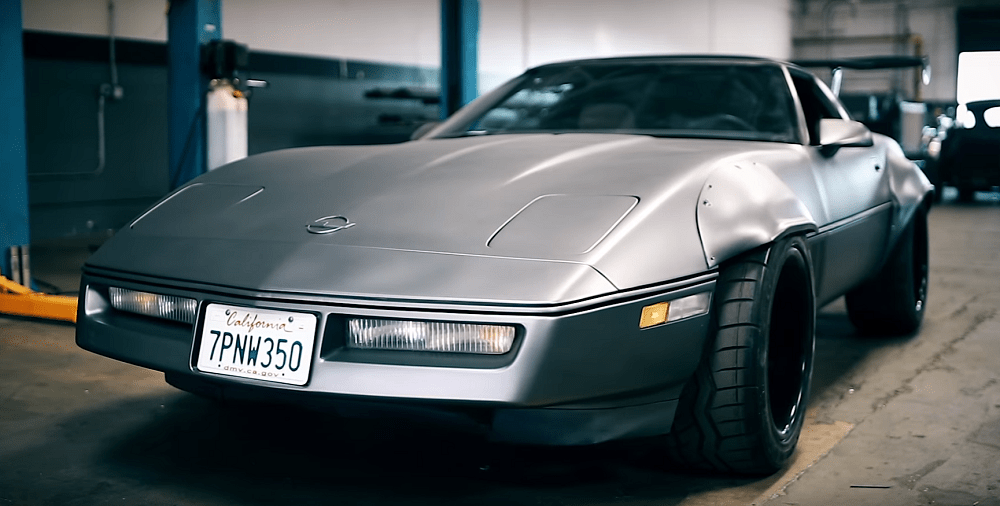 Budget Build Turns Crusty C4 Corvette into Movie Car