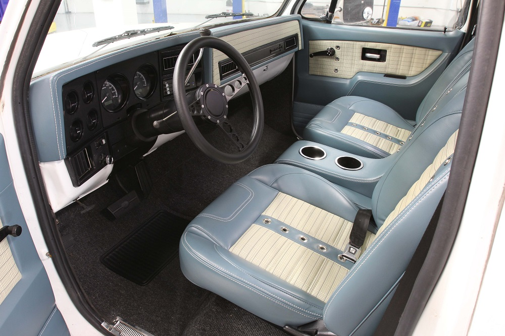 Diy Chevy Truck Projects C10 Custom Interior Installation